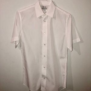 Acne Studios Short Sleeve Button Down Shirt